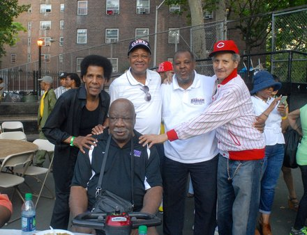 Harlem legends reunited (Bill Moore Photos)