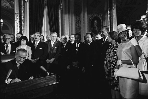 Today marks the 50th anniversary of the Voting Rights Act of 1965. This historic law was passed in response to ...