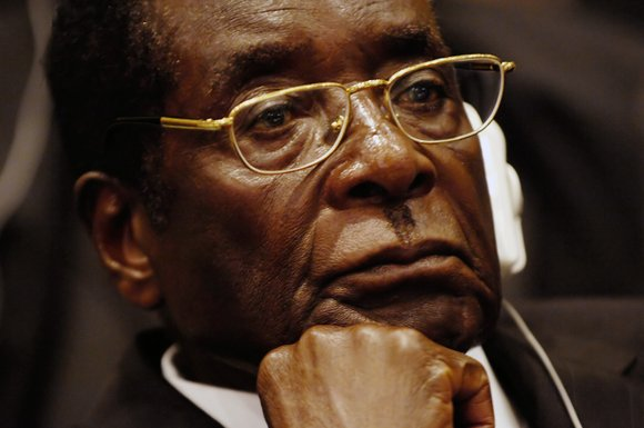 Robert Mugabe, the former leader of Zimbabwe forced to resign in 2017 after a 37-year rule whose early promise was ...