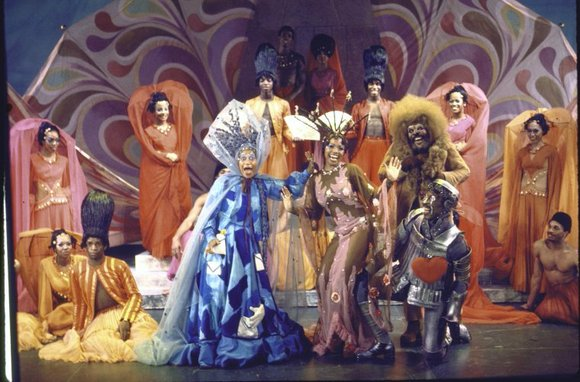 Tony Award-winning choreographer George Faison perches on the edge of his seat in front of the mirrored wall of his ...