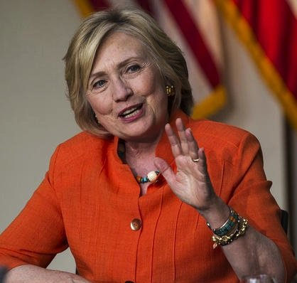 Hillary Clinton visited a technical college in Los Angeles on Thursday to hear the emotional stories, and needs, of home ...