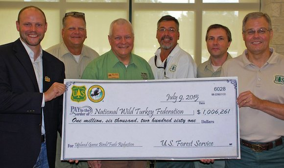 Representatives from the National Wild Turkey Federation (NWTF) and the National Forests and Grasslands in Texas (NFGT) met on July ...