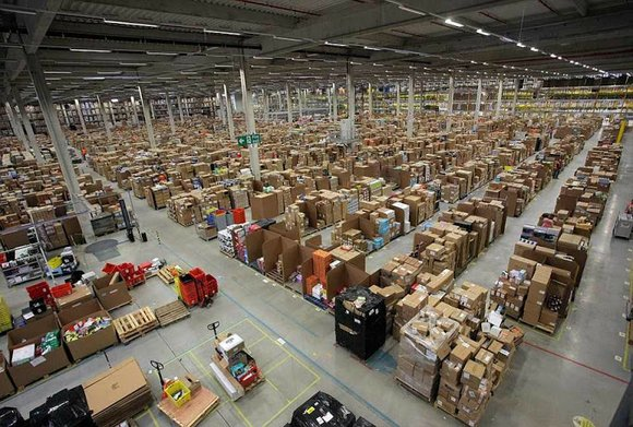 The Seattle-based company announced Monday that it is hiring people to work in its new fulfillment center in the Laraway ...