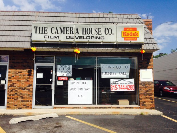 Camera House West on Larkin Avenue, a Joliet institution since 1977, is going out of business and will close by month's end.