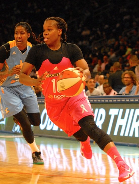 Breast Health Awareness Night always brings an emotional vibe to Madison Square Garden, and the New York Liberty rewarded the ...