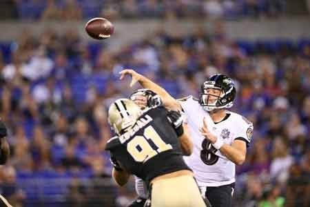 The Baltimore Ravens kicked off the preseason against the New Orleans Saints at M&T Bank stadium on Thursday night.