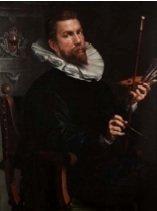 Joachim Wtewael, Self‐Portrait, 1601, oil on panel, Centraal Museum Utrecht.