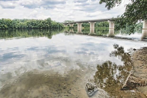 James River at Huguenot Bridge