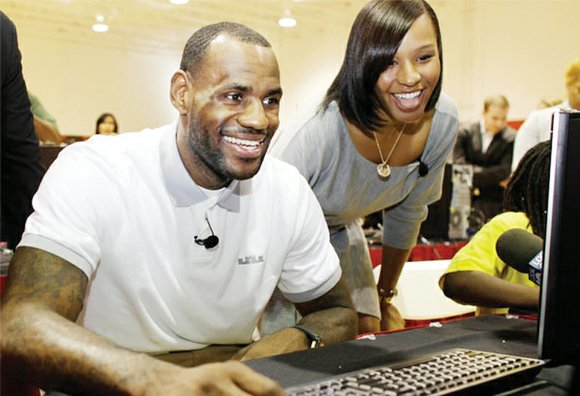LeBron James is giving kids from Akron — ones with challenging backgrounds like his — the chance to go to ...
