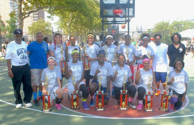The hustling team from the Bronx won the 2015 Slam Jam championship.