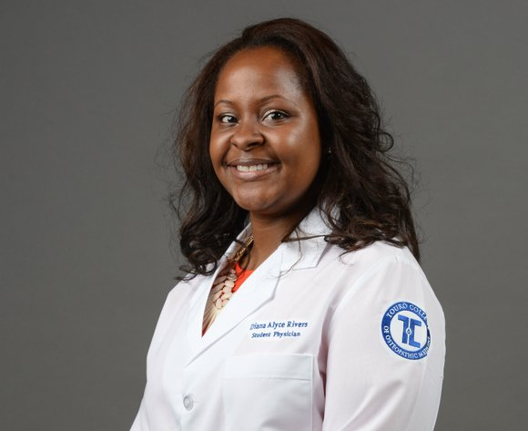Diana Rivers, a third-year student at the Touro College of Osteopathic Medicine in Harlem, has won the 2015 Sherry R. ...