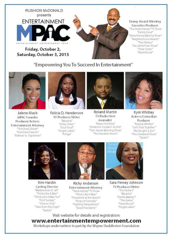Well-known entertainment industry personalities bring their experience and expertise to Houston to launch Entertainment MPAC an Empowerment Tour, held Oct. ...