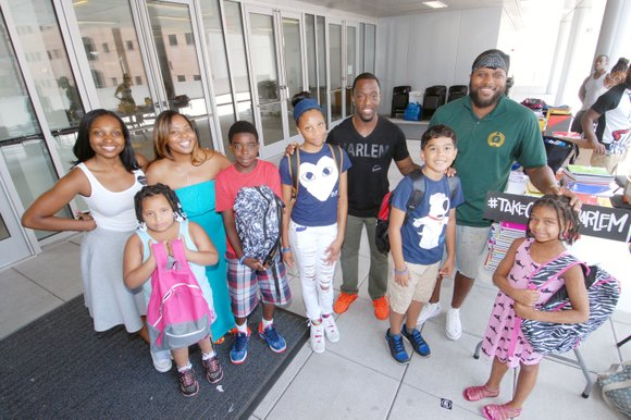 Harlem Hospital Center's Mural Pavilion welcomed up to 500 kindergarten to grade 12 students and their families, preparing for the ...