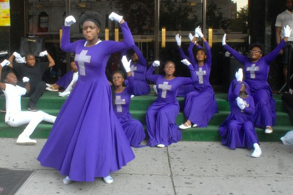 Photos from Gospel Night at SummerStage hosted by the Greater Refuge Temple in Harlem sponsored by Angela Missy Billups.