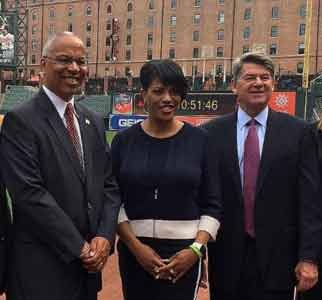 "Lt. Governor Boyd K. Rutherford was joined by Baltimore City Mayor Stephanie Rawlings-Blake at the launch of the ""Maryland Grand ..."