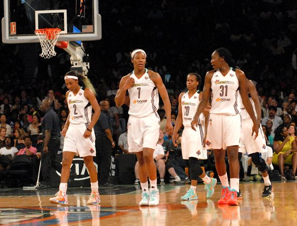 A 75-71 victory over the Minnesota Lynx Sunday evening allowed the New York Liberty to clinch the No. 1 seed ...
