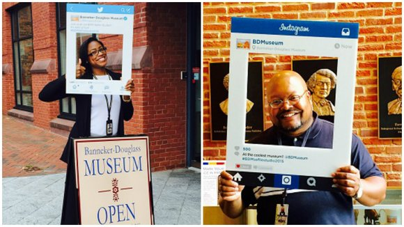 The Banneker-Douglass Museum, Maryland's official repository of African American heritage launches the BDM Selfie Studio on Saturday, September 26, 2015 ...