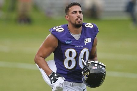 Can Crockett Gillmore emerge as another threat for the Ravens ...