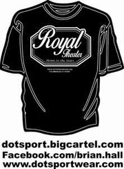Brian Hall, CEO of D.O.T. Sports is Baltimore's t-shirt mega entrepreneur has a designed a special shirt for die-hard fans of the Old Pennsylvania Avenue Royal Theatre. For more information, go to his website: www.dotsportswear.com.