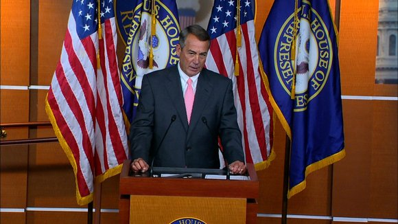 John Boehner, the Ohio Republican who steered his party to an overwhelming House majority in 2010, said in a news ...
