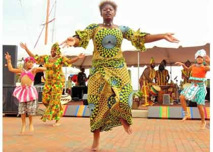Strong winds did not deter over 4.000 festival-goers from attending the 26th Annual Kunta Kinte Heritage Festival that was held ...
