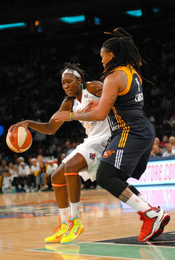 Although the New York Liberty won't be vying for a WNBA championship this year, it's hard to criticize a team ...