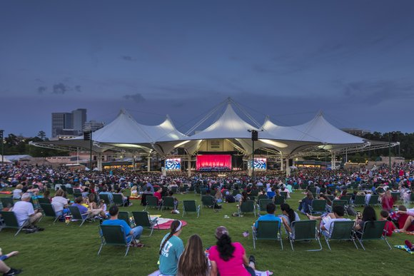 The Cynthia Woods Mitchell Pavilion ranked first in the top 100 amphitheaters in the world based on the number of ...