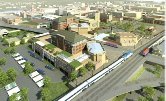 As part of the continued work on the Joliet Gateway Center transportation campus, pedestrian tunnels near the train station will ...