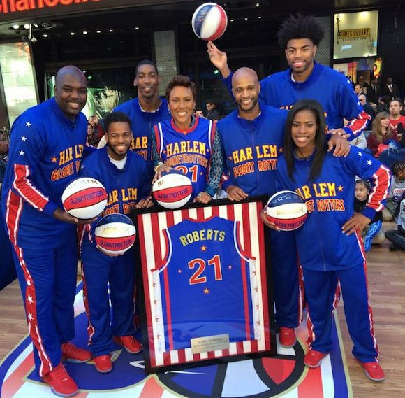 17 Best Images About Fashion Monitor Journalism Awards: Robin Roberts Named Honorary Harlem Globetrotter