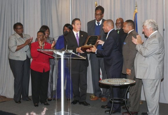 Central Brooklyn elected officials and community leaders welcomed Gov. Andrew Cuomo to Bedford-Stuyvesant to discuss his designation of New York ...