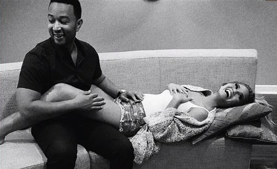 Chrissy Teigen and John Legend reveal they're expecting a baby girl.
