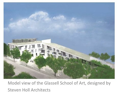 Glassell School of Art, designed by Steven Holl Architects, launches first phase of construction for a transformational campus plan; Deborah ...