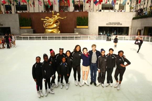 The start of the 2014-15 winter season in New York City kicked off with the official opening of the Rink ...