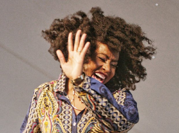 R&B singer Anhayla sings out
