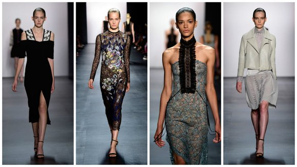 At New York Fashion Week, timeless elegance collided with a modern edge at Yigal Azrouel's show.