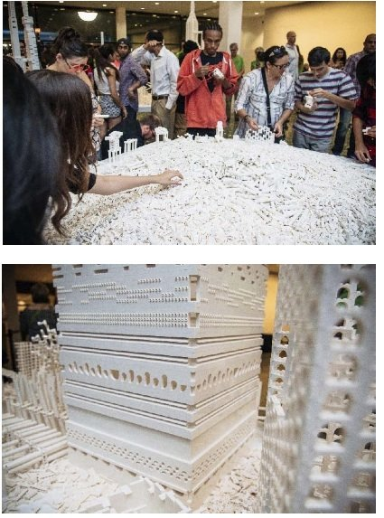 This past weekend, the 5,000 guests who attended the Mixed Media Block Party at the Museum of Fine Arts, Houston, ...