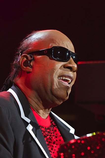 Legendary musician Stevie Wonder took both knees at a New York music festival, seemingly showing solidarity with NFL players criticized ...