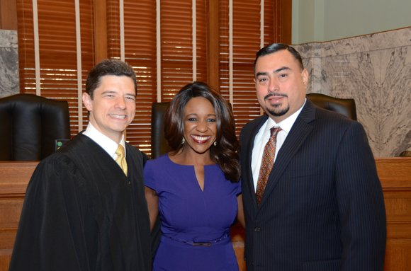 Hon. Jacquie Baly was recently sworn-in to office for Texas Governor Greg Abbott's University Research Initiative Advisory Board. Surrounded by ...