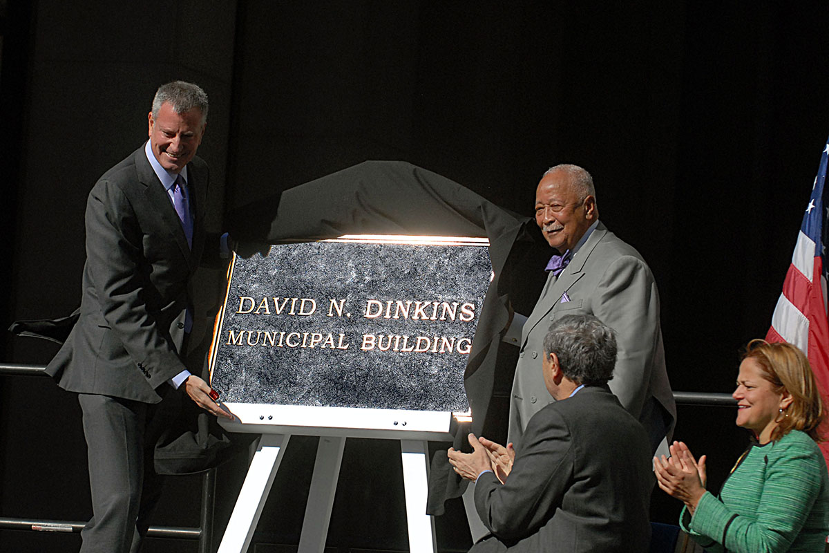 david n dinkins municipal building a tribute to the city s first black mayor new york amsterdam news the new black view david n dinkins municipal building a