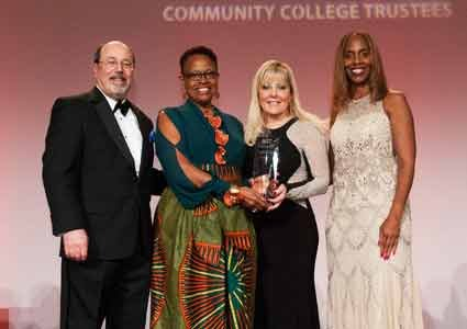 Anne Arundel Community College received the 2015 Charles Kennedy Equity Award from the Association of Community College Trustees at the ...