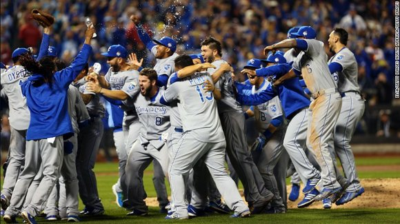 The Kansas City Royals reign supreme in the World Series. Searchers may have found the wreckage of a missing cargo ...