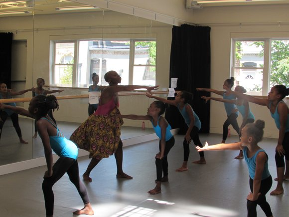 In a sparkling new, sun-drenched dance studio just off the Gates Avenue stop of the J train in Brooklyn, Dwana ...