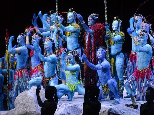 Na'vi clans  in Cirque Du Soleil's Toruk-The First Flight