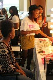 ESSENCE College Tour Beauty Station (Photo credit: E. Mackey)