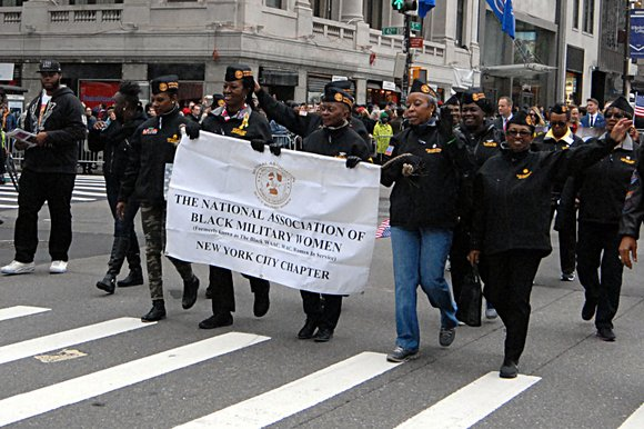 The 96th annual Veterans Day Parade was held in Midtown Manhattan Wednesday.