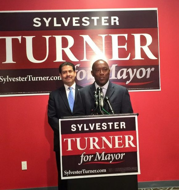 Sylvester Turner, fresh off coming in above any of his opponents in Tuesday, November 3rd's general election, has announced he ...