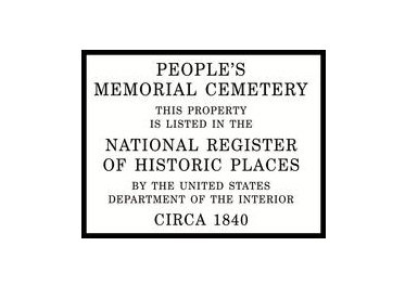 A state historical marker now commemorates the People's Memorial Cemetery in Petersburg. The marker was unveiled last Sunday at the ...