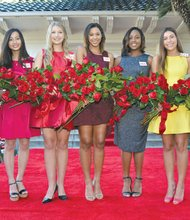 """Rose Princess Regina Marché Pullens, 17, a senior at Maranatha High School and resident of Altadena, was one of more than 1,000 girls who tried out for the the 2016 Rose Court. Pullens founded the Glam Girl Club and is a teacher's assistant for the science department. She has traveled to the Dominican Republic and Nicaragua on mission trips and has served as a counselor for vacation bible school at the Altadena Seventh-Day Adventist Church. She enjoys reading, writing, and playing both the piano and clarinet. Pullens hopes to study pre-medicine in college and is aiming for a career as an anesthesiologist. She is the daughter of Reginald and Renita Pullens amd has three siblings—Teneka, Reece and Reid. Bryce Marie Bakewell, 17, of Flintridge Sacred Heart Academy will also serve at a Rose Princess. The 17 year old is a senior living in Pasadena. She serves as president of the Black Student Union at her school and volunteers at a daycare for disabled children. She enjoys yoga, volunteer work and spontaneous trips with her family. In college, she hopes to work on a pre-law track majoring in United States History and minoring in Spanish. Bakewell would also like to eventually become a criminal justice attorney. She is the daughter of Danny Jr. and Tana Bakewell and has three siblings—Taelor, Danny III and Devyn. Theme of the 127th Rose Parade """"Find Your Adventure."""""""