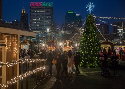 Christmas Village in Baltimore will again transform West Shore Park (501 Light Street) into a traditional, indoor and outdoor German ...