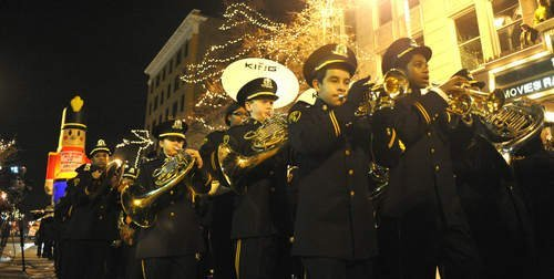 Joliet's Light up the Holidays parade has been an annual tradition since 1997.